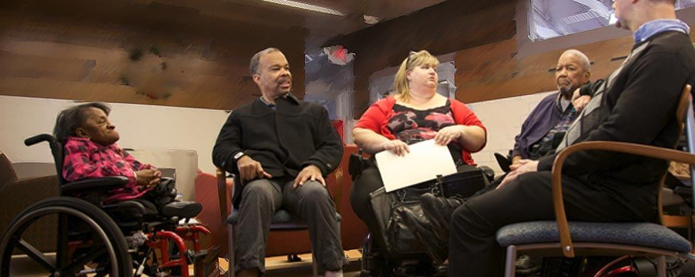 People with Disabilities in Conversation